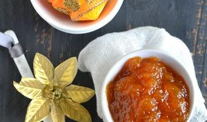 Confiture de courge aux zestes d'orange et à la cannelle