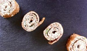 Roulés bretons de galettes de sarrasin
