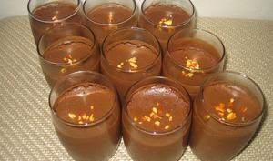 mousse au chocolat facile en verrines