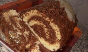 bûche poire chocolat facile