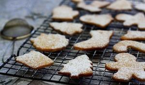 Biscuits aux épices de Noël et miel