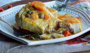 Steak de Thon aux carottes