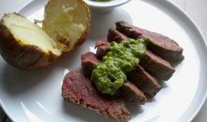 Steaks sauce Chimichurri et concours !