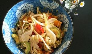 Salade oranges et fenouil