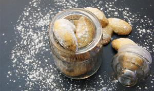Kipferle biscuits de noël à la vanille