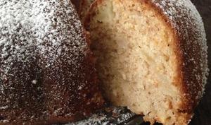 Gâteau aux pommes et pralin