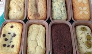 Mix de petits cakes sucrés et salés