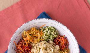 Salade tiède vitaminée
