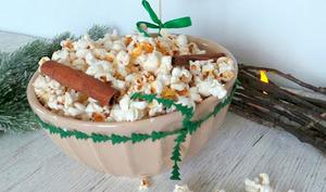 Popcorn de Noël à la cannelle