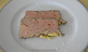 Foie gras maison aux quatre-épices