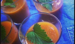 Gelée de mangues à la menthe poivrée