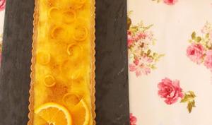 Tarte à l'orange caramélisée de Christophe Felder