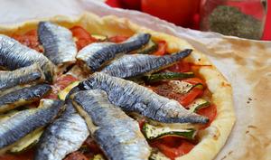 Tarte tomate sardine