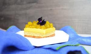 Entremets exotiques mangue et ananas