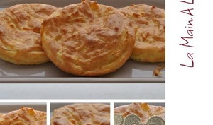 Galette des rois franc-comtoises en pâte à choux