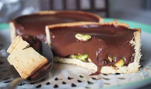 Tartelette chocolat-pistache