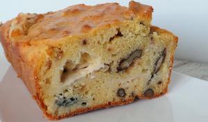 Cake roquefort - noix