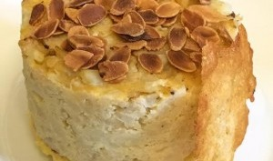Chou fleur et polenta façon cheesecake