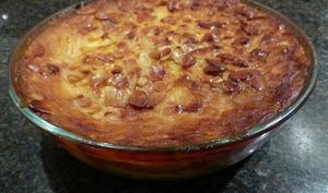 Gâteau invisible aux pommes et aux amandes