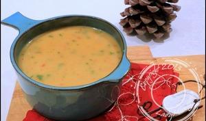 Soupe au chorizo, fenouil et pomme de terre