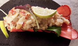 Ceviche homard et crevettes