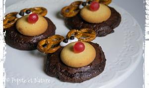 Cookies tout choco version Rudolph le renne