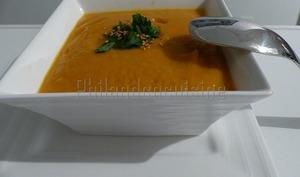 Velouté aux carottes et patates douces