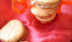 Macarons Safran, Mangue , Foie Gras