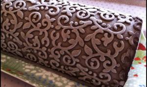 Bûche Fraîcheur Chocolat d'après Pierre Hermé