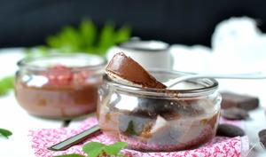 Flans végétaux au chocolat