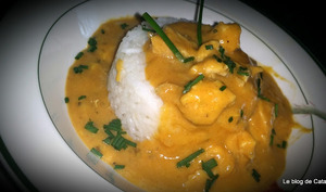 Escalopes de dinde au curry