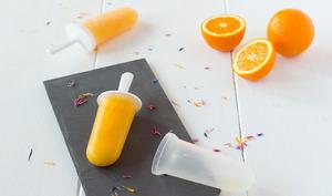 Bâtonnets glacés à l'orange