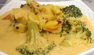 Curry aux légumes façon thaï