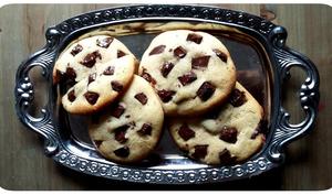 Cookies soft baked géants aux coeurs fondants