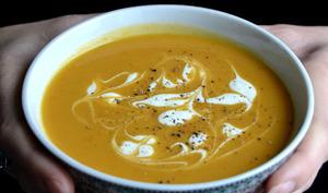 Soupe Thai aux patates douces et epices