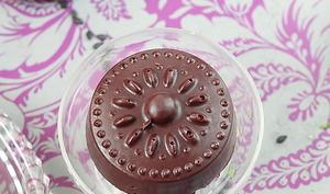 Délices d'Orient: Financiers bergamote sésame noir et chocolat