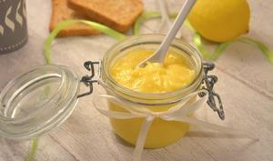 Lemon curd coco