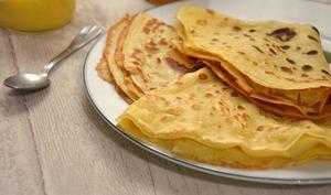 Pâte à crêpes croustillantes