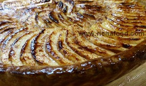 La tarte aux pommes pas tarte à tomber dans les pommes