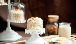 Layer crêpe cake façon frangipane