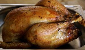 Chapon farci au foie gras : la cuisson
