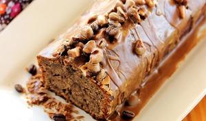 Cake végétal et gourmand au café et au rhum