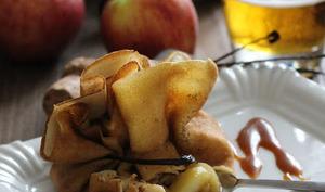 Aumonières aux Pommes & Cidre