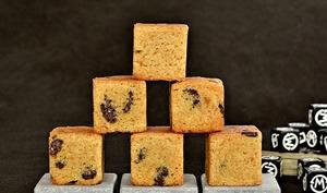 Cookies-Cubes bergamote chocolat