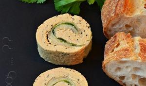Maki de foie gras, pomme verte et vanille
