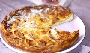 Flamusse bourguignonne aux pommes