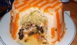 Chartreuse de poule faisane : le montage