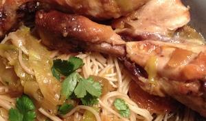 Pilons de poulet au miel et au sésame