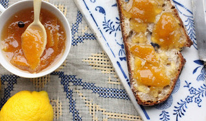 Marmelade de citron et bergamote au gin