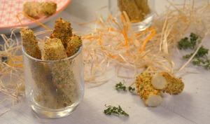 Frites de salsifis au four